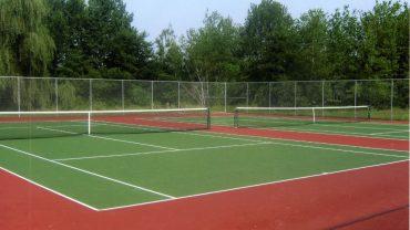 Basketbol, Voleybol ve Tenis Kortu Uygulaması